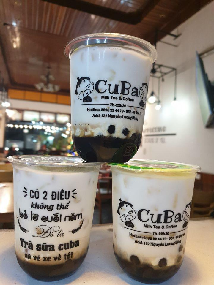 Cuba - Milk tea and Coffee