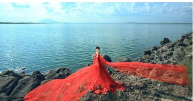 Hồ Dầu Tiếng là nơi chụp ảnh lý tưởng