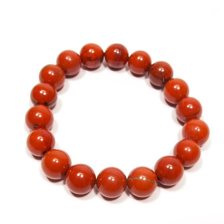 Vòng đá phong thủy jasper màu đỏ phù hợp nhất với Bạch Dương
