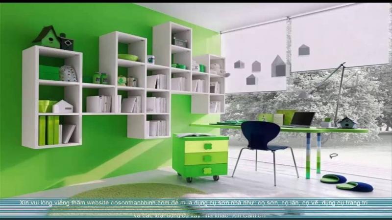 Phòng làm việc của Bạch Dương nên có tông màu chủ đạo là màu xanh lá cây