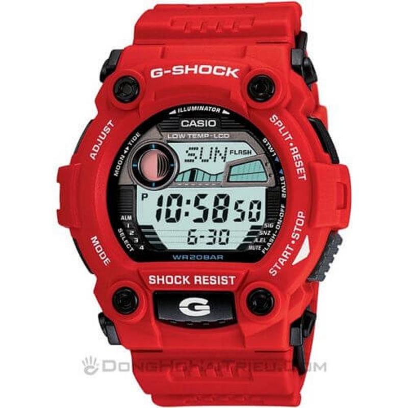 Đồng hồ Casio G-shock màu đỏ