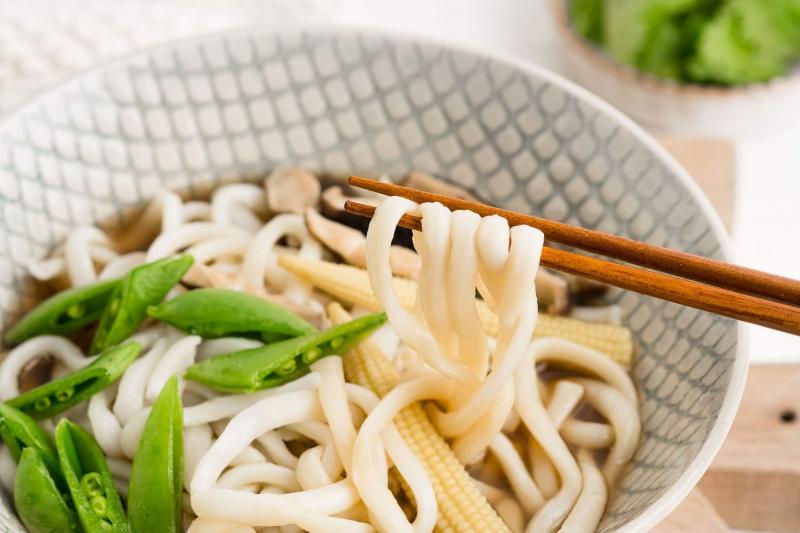 Mì udon cung ứng hàm lượng sắt cao