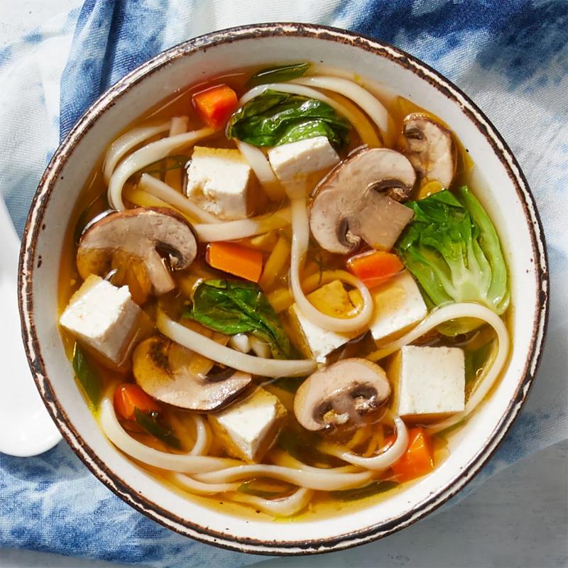Mì Udon làm từ gạo nâu đúng là một nguồn cung ứng protein chất lượng rất tốt cực kì tuyệt vời