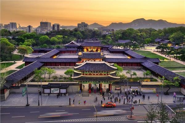 Toàn cảnh cung điện Changdeokgung