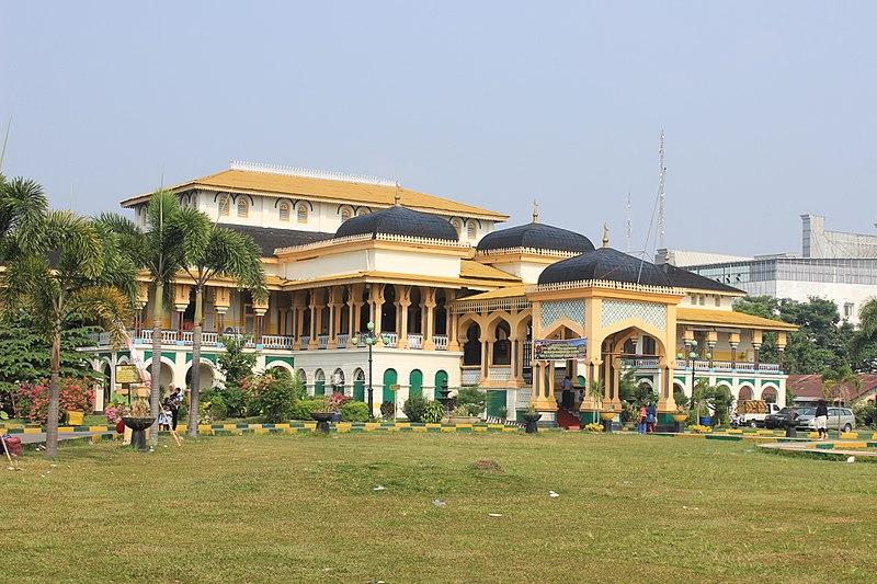 Cung điện Maimun có diện tích 2.772 m2
