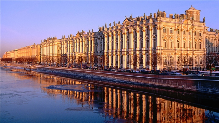 Cung điện mùa đông, Nga