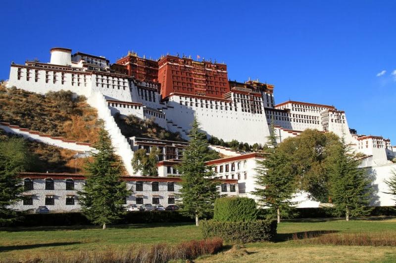 Cung điện Potala - Công trình kiến trúc vĩ đại nhất Tây Tạng