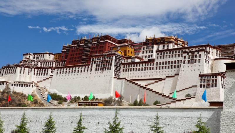 Cung điện Potala Palace, Tây Tạng