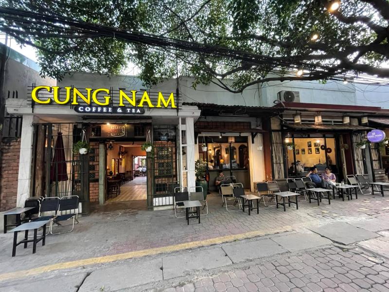 Cung Nam Coffee là điểm đến lý tưởng cho ai muốn lánh mình khỏi cuộc sống xô bồ nhộn nhịp.