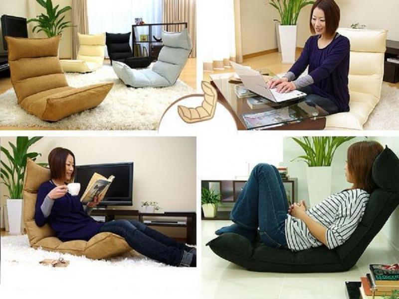 Một chiếc ghế sofa gập trong phòng làm việc sẽ giúp Thần Nông tăng thêm sức cuốn hút