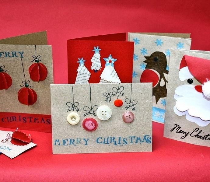 Thiệp giáng sinh handmade đầy ý nghĩa sâu sắc