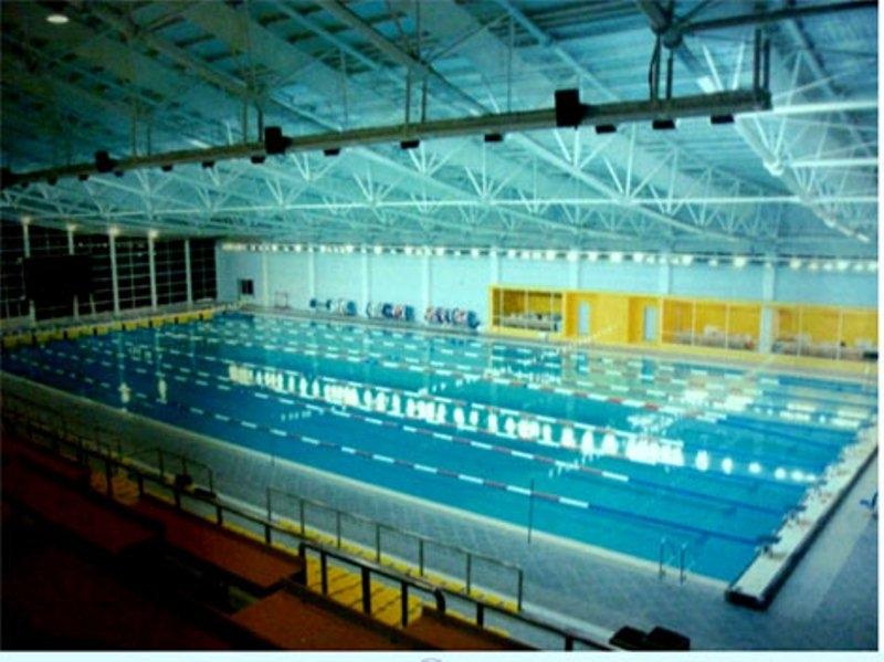 Hệ thống bể bơi trong nhà tại cung thể thao dưới nước