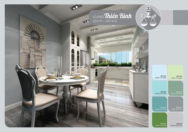Phòng tắm và bếp rộng rãi sẽ giúp cho Thiên Bình đón phúc tài vào nhà.