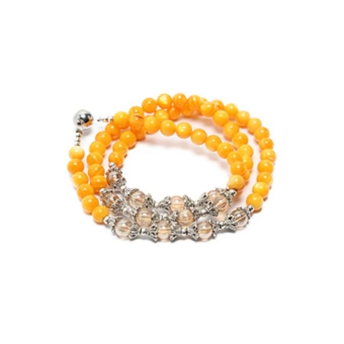 Vòng đá phong thủy agate vàng phù hợp nhất với Xử Nữ