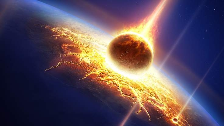 Thiên thạch va chạm với Trái Đất