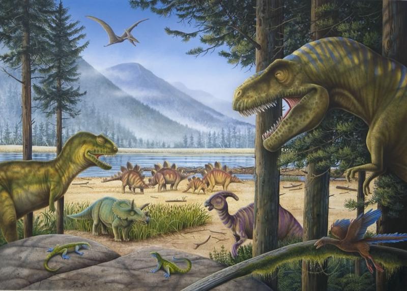 Thời kỳ thống trị của khủng long trên Trái Đất