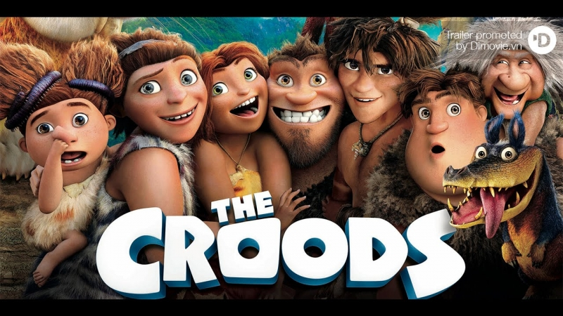 Gia đình Croods .