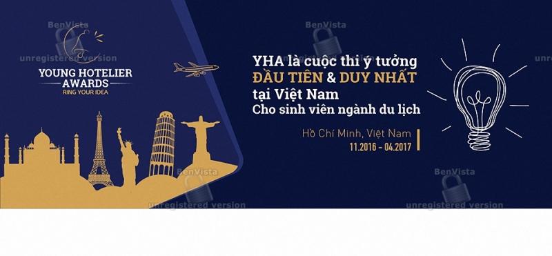 Cuộc thi đầu tiên về ý tưởng trong lĩnh vực Du lịch, Nhà hàng và Khách sạn tại Việt Nam