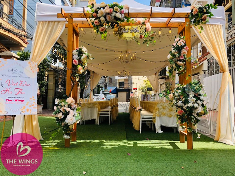 Cưới hỏi THE WINGS - Wedding Planner