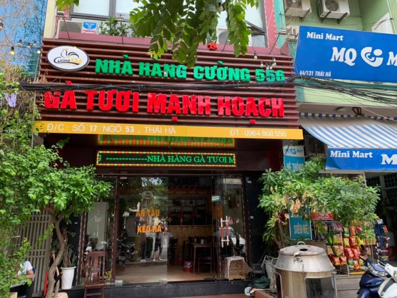 Cuong 556 - Manh Hoach Fresh Chicken - Yen Lang