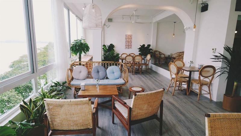 """Cup Of Tea được mệnh danh là quán cà phê """"đẹp không góc chết"""" tọa lạc tại quận Tây Hồ"""
