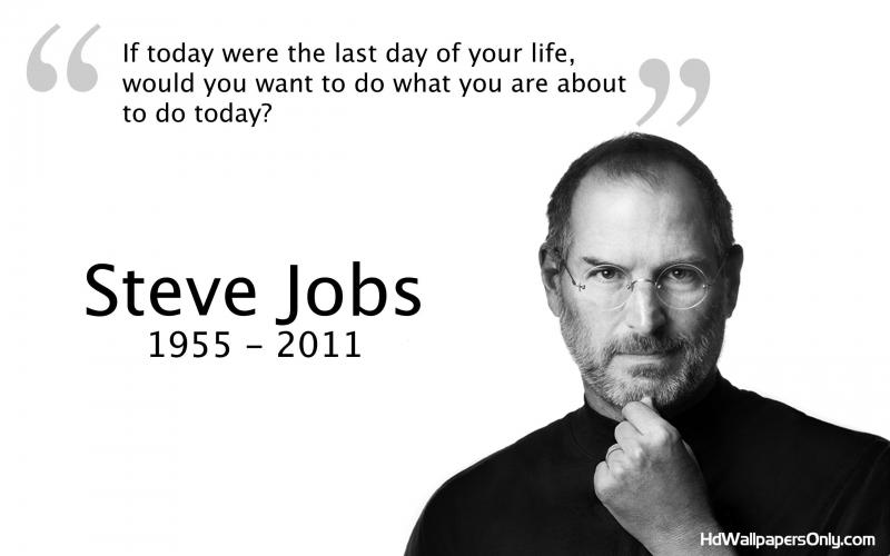 Steve Jobs: tự động viên mình mỗi sáng