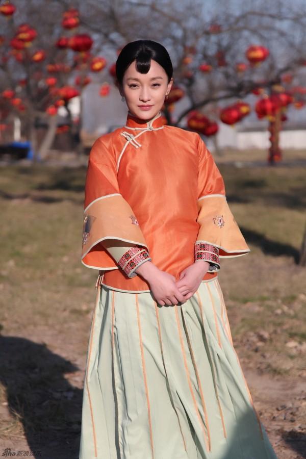 Châu Tấn trong phim Cao Lương đỏ