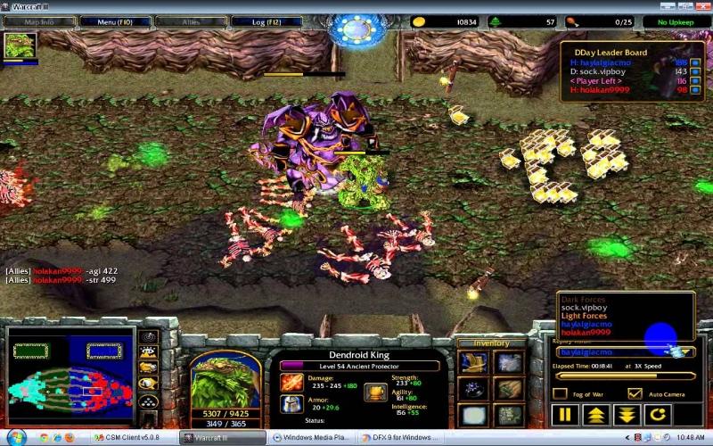 D-Day 19.9b - mod Warcraft 3