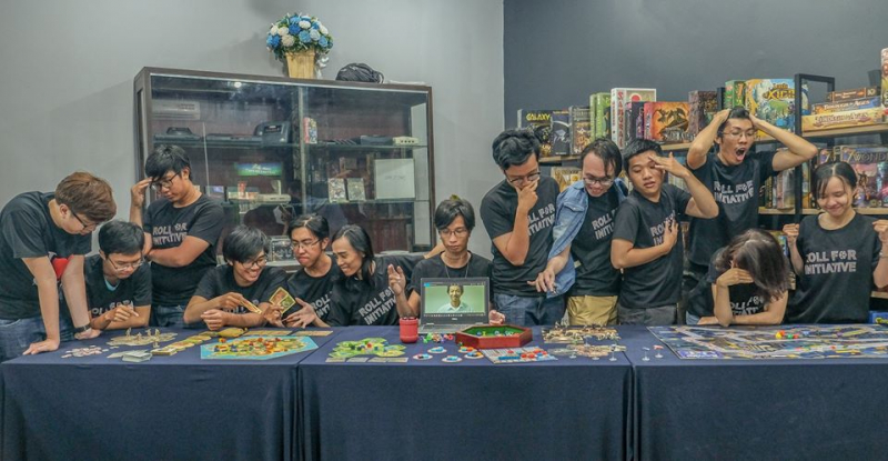 d20 Boardgame Cafe