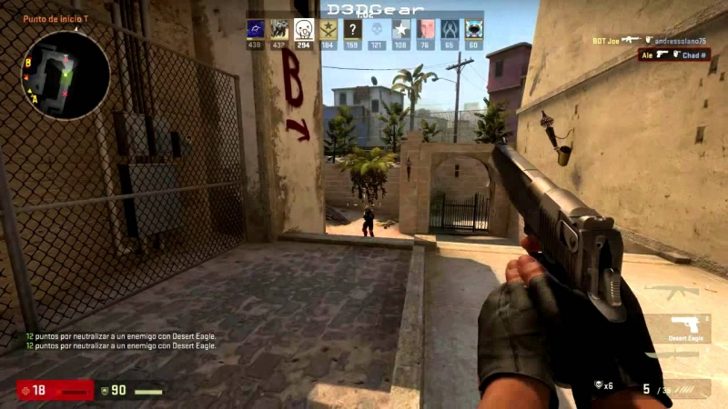 Phần mềm quay video game D3DGear khi sử dụng