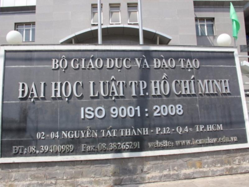 Trường đại học luật TPHCM