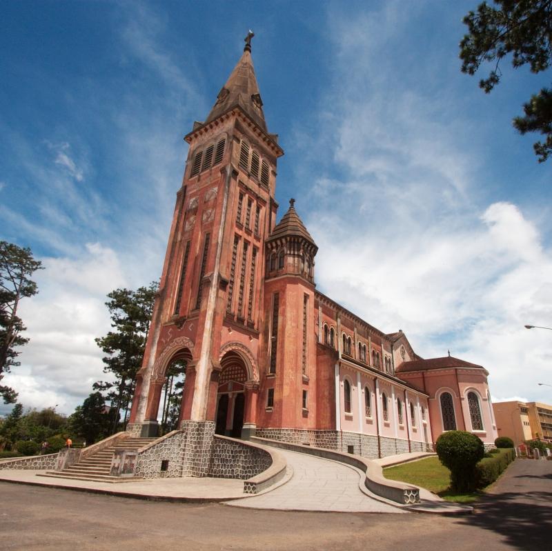 Nhà thờ chính tòa Đà Lạt.