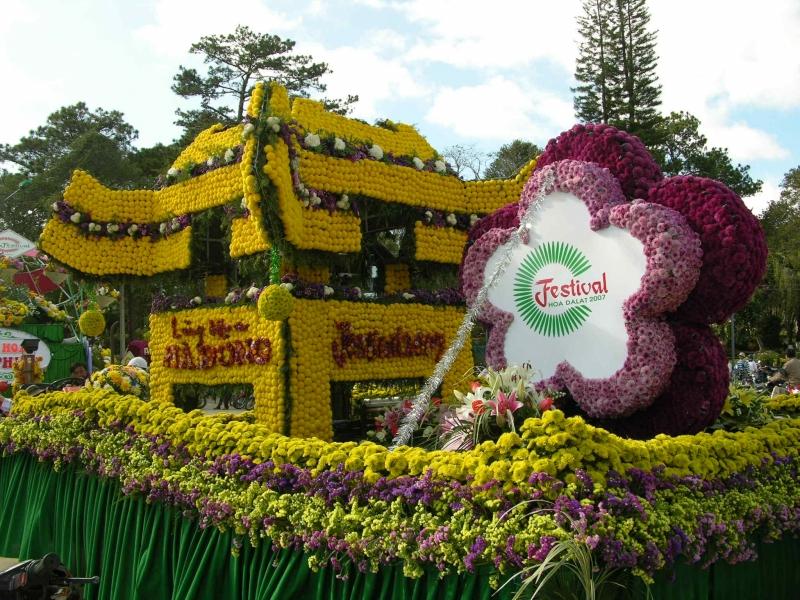 Ngày hội hoa Đà Lạt