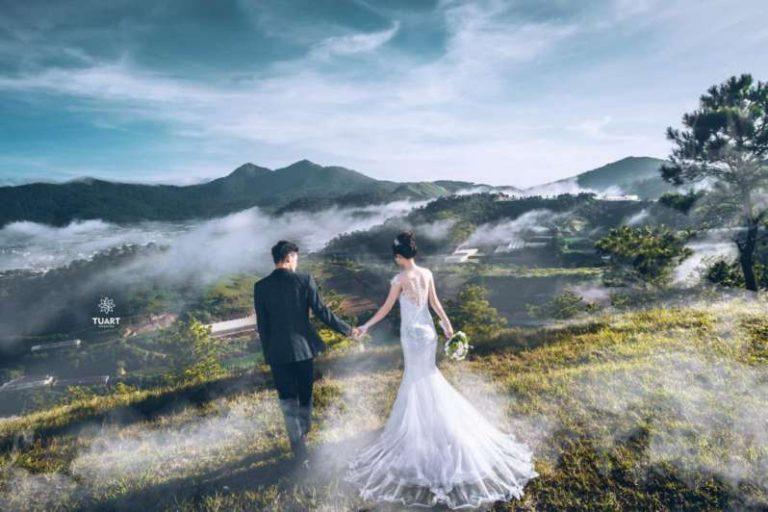 Chụp ảnh cưới tại Đà Lạt mộng mơ