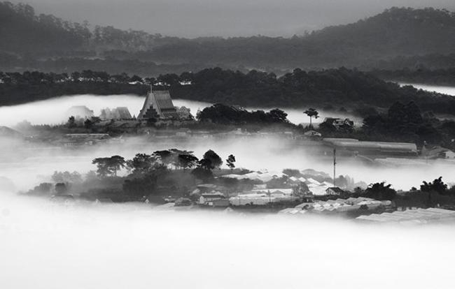 Đà Lạt đẹp ma mị trong sương
