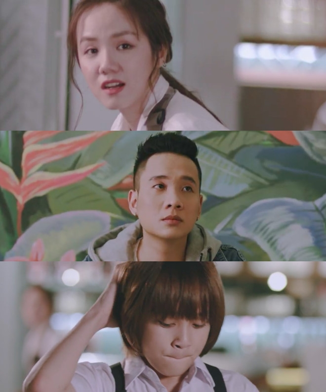Phương Ly, JustaTee, Thiên Khôi trong MV Đã lỡ yêu em nhiều
