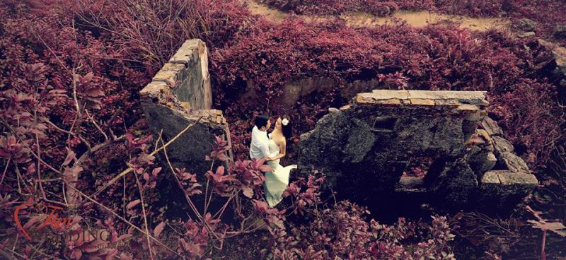 Chụp ảnh cưới ở bán đảo Sơn Trà Đà Nẵng