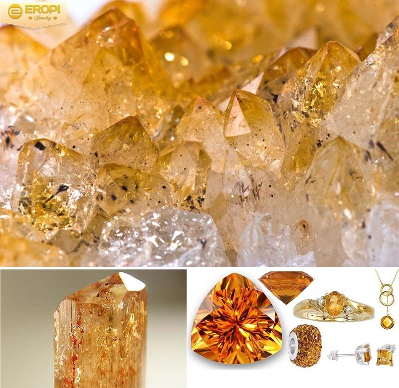 đá topaz vàng. là màu tương hợp của mệnh thổ , mang lại nhiều tác dụng tuyệt vời cho người sở hữu