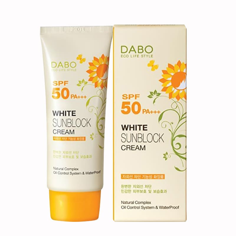 Dabo White Sunblock Cream