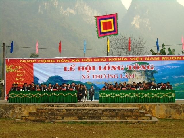 Đặc sắc lễ hội Lồng Tông ở Thượng Lâm