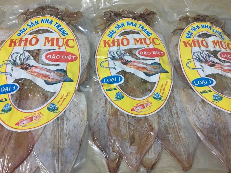 Đặc sản biển Kim Biển - địa chỉ mua mực khô chất lượng và rẻ nhất Nha Trang