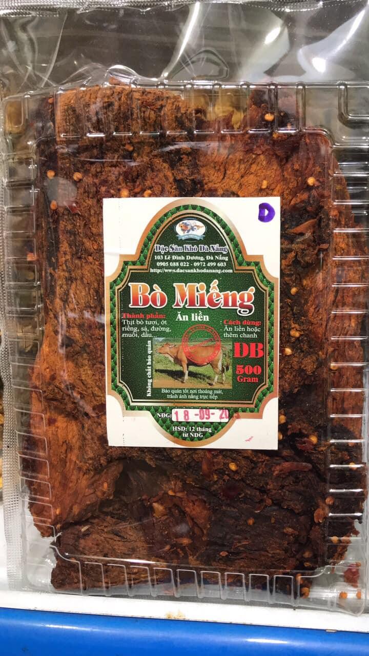 Đặc sản khô Đà Nẵng - địa chỉ mua thịt bò khô ngon nhất Đà Nẵng