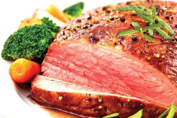 Thịt bò tái kiến đốt