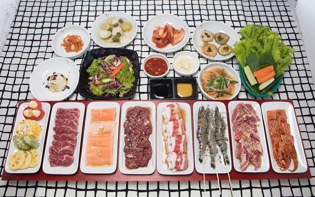 Những món ăn hấp dẫn ở Daebak Gogi BBQ
