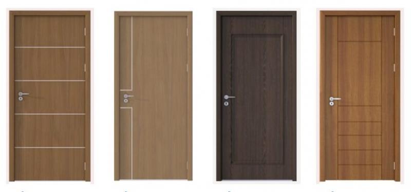 Các mẫu cửa nhựa composite hiện đại tinh tế phù hợp với mọi phong cách từ hiện đại, cổ điển, tới đơn giản