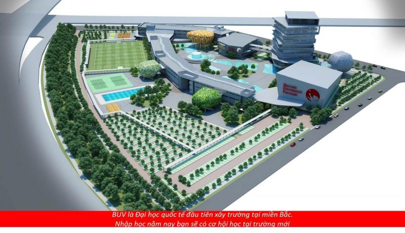 Mô hình đại học Quốc tế Anh quốc Việt Nam (BUV)