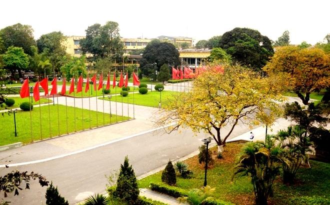 Cảnh đẹp say đắm lòng người của trường ĐH Bách khoa Hà Nội