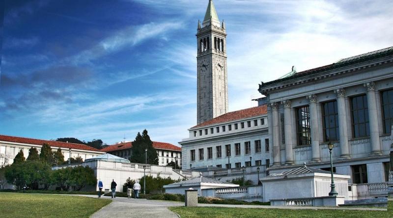 Khung cảnh nên thơ của Đại học California