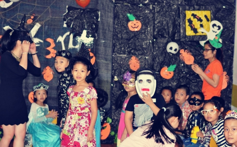 Hàng năm tại Đại học Cần Thơ đều diễn ra các hoạt động chào mừng Halloween