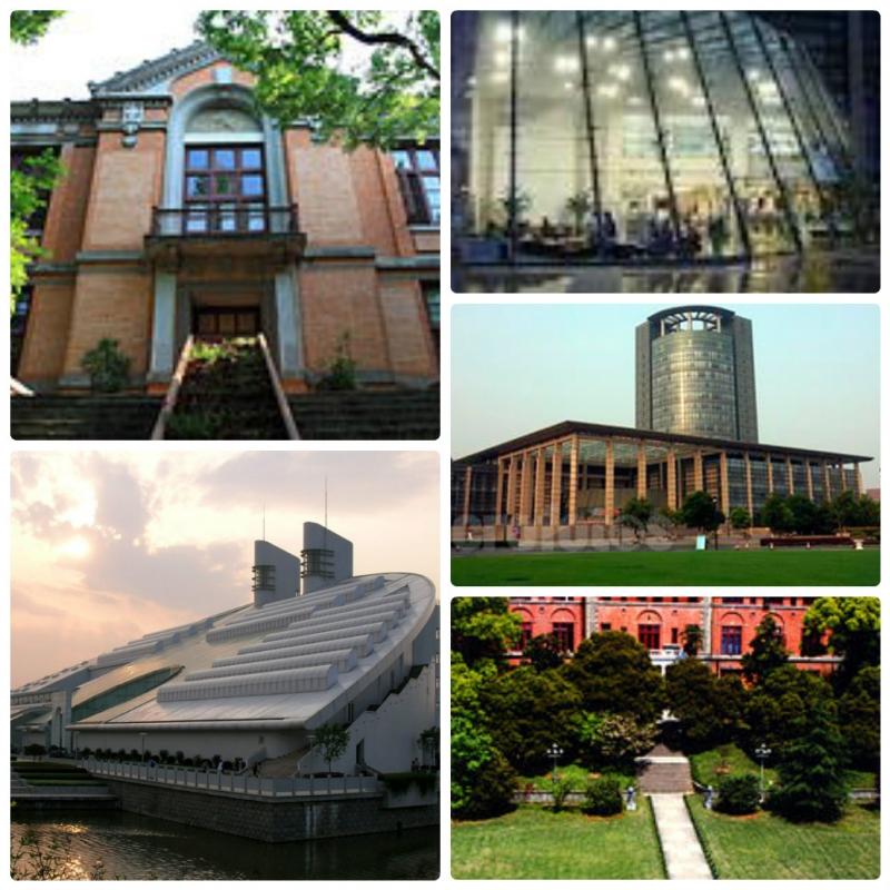 Một vài góc của Đại học Chiết Giang